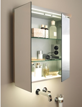 Mirror & Cabinets