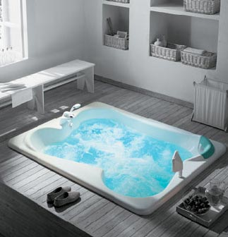 Jacuzzi Bath. Corner Whirlpool Baths Sheths Bathrooms  and Freestanding