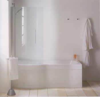Adamsez Mezza Showering Bath By Adamsez