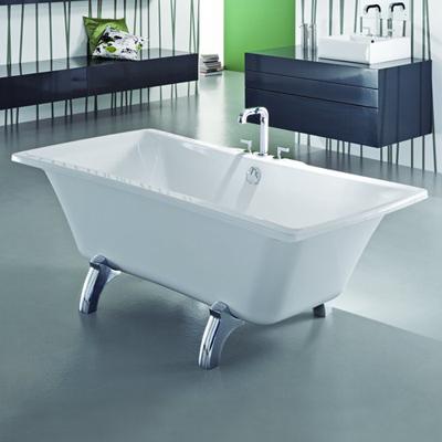 Adamsez Signa Freestanding Bath in White Finish By Adamsez