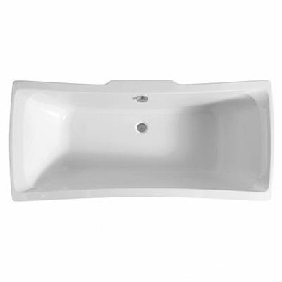 Adamsez Signa Inset Bath in White Finish By Adamsez