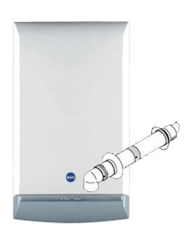 Baxi Duo-Tec 40 HE Combi Boiler By Baxi
