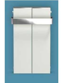Bisque Blok Towel Radiator - 1290mm By Bisque Radiators