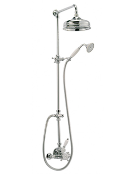 Gedy Thermostatic Shower Column.Cifial Traditional Thermostatic Shower Column 700800td