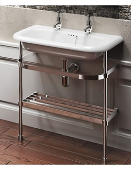 Clearwater Medium Traditional Basin with Stand By Clearwater