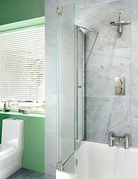 Clearwater Cleargreen Ecosquare Bath Screen  By Clearwater