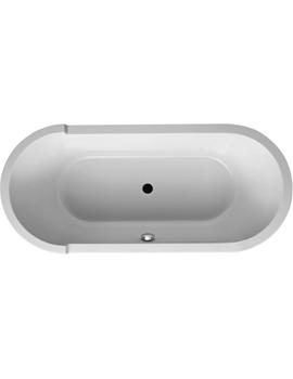 Duravit Starck 1 Oval Built-In Bathtub