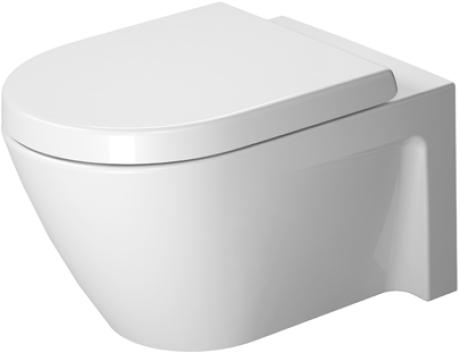 Duravit Starck 2 Toilet Wall Mounted Washdown Model 540mm