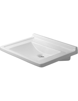 Duravit Starck 3 Washbasin Without Tap Hole By Duravit