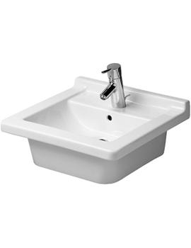Duravit Starck 3 Washbasin Outside Fully Glazed By Duravit