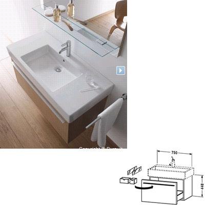 duravit vanity x large images. Black Bedroom Furniture Sets. Home Design Ideas