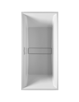 Duravit 2nd Floor Rectangle Bathtub for Furniture Panel1800 x 800mm By Duravit