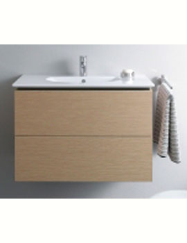 Duravit Delos 500mm Wall Mounted Vanity Unit With 2 Drawers For Darling New  Basin