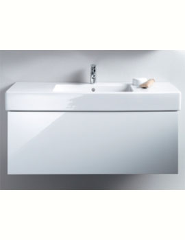 Duravit Delos 800mm Wall Mounted Vanity Unit With 1 Drawer For Vero Basin