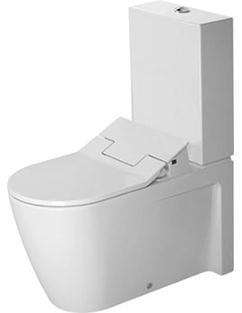 Duravit Starck 2 Close Coupled Toilet with Starck E Sensowash Seat