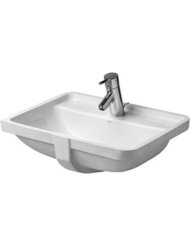Duravit Starck 3 Undercounter Vanity Basin with Tap Hole By Duravit