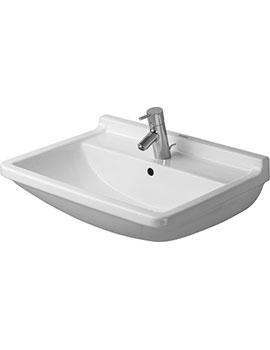 Duravit Starck 3 Washbasin 650 x 485mm By Duravit