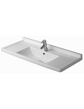 Duravit Starck 3 Furniture Washbasin 1050mm - 030410 By Duravit