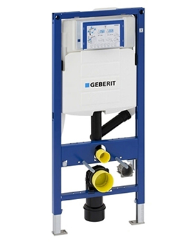 Geberit Duofix WC Frame For Wall Hung WC With Odour Extraction 112cm - 111353005 By Geberit