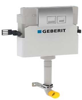 Geberit Delta 12cm Concealed Dual Flush Cistern - 109105001 By Geberit
