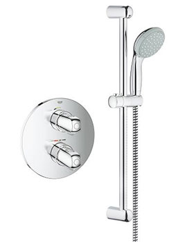 Grohe Grohtherm 1000 Concealed Shower Set - 34575 By Grohe