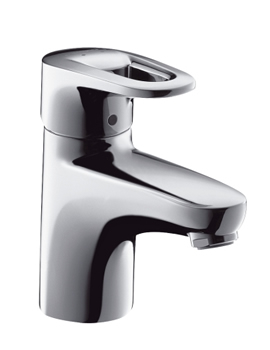 hansgrohe metropol e basin mixer for small basin. Black Bedroom Furniture Sets. Home Design Ideas