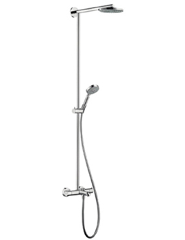hansgrohe raindance showerpipe 180ecosmart for bath tub with 460mm shower arm. Black Bedroom Furniture Sets. Home Design Ideas