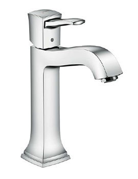 Hansgrohe Metropol Classic Single Lever Basin Mixer 160 With Pop-Up Waste For Washbowls With Lever Handle  By Hansgrohe