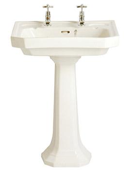 Heritage Granley Deco Basin & Pedestal By Heritage