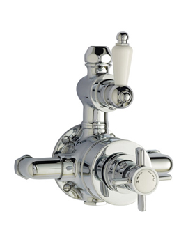 Home of Ultra Beaumont Twin Exposed 1/2 inch Thermostatic Valve  By Home of Ultra
