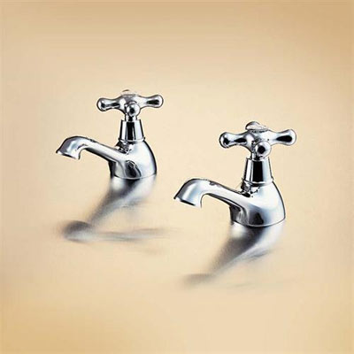 Ideal Standard Kingston Basin Taps (Pair)