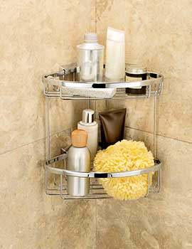 Impey Double Corner Basket By Impey