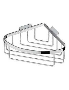 Impey Chrome Shower Corner Basket By Impey