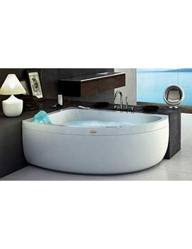 Jacuzzi AquasoulOffset Corner Whirlpool Bath