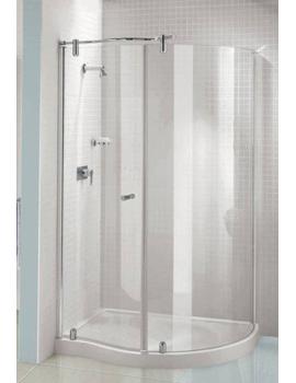 Silverdale Contemporary Shower Enclosures Sliding