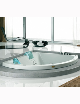 Jacuzzi corner whirlpool baths corner bath sale for Whirlpool tubs on sale