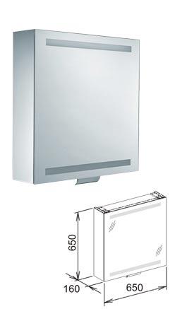 Keuco Edition 300 Mirror Cabinet 650  By Keuco