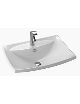 Kohler Escale 600mm Inset Vanity Basin - 19029W-00  By Kohler