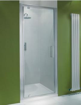 Manhattan Pivot Shower Door In Chrome