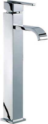Mayfair Ice Fall Lever Head Freestanding Large Basin Mixer Chrome  By Mayfair