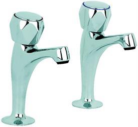 Mayfair Alpha Sink Taps Chrome  By Mayfair