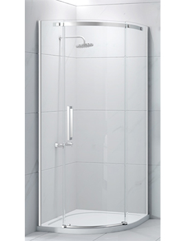 Merlyn Essence Frameless 1 Door Quadrant  By Merlyn