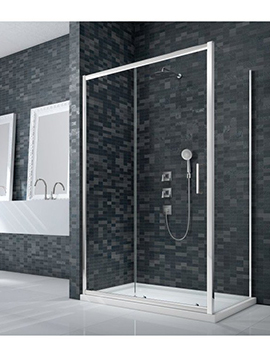 Merlyn Essence Framed Sliding Door with or Without a Side Panel  By Merlyn