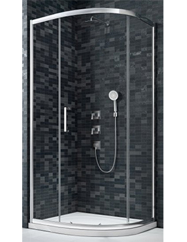 Merlyn Essence Framed 1 Door Quadrants  By Merlyn