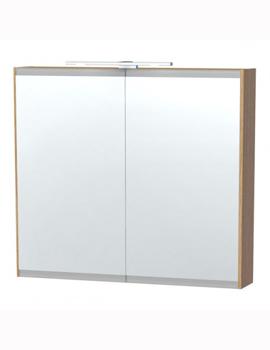 Miller Miller London 80cm Mirror Cabinet  sc 1 st  Sheths Bathrooms & Miller Mirror u0026 Cabinets | Bathroom Cabinets UK | Bathroom Vanity ...