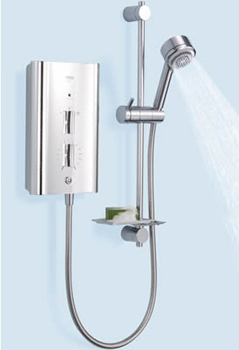 Mira Escape Thermostatic 9.8kW Electric Showers By Mira Showers
