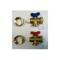 Polypipe Manifold End Set (Pair)  By Polypipe