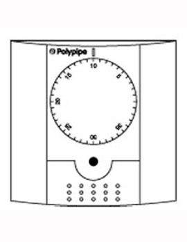 Polypipe Dial Room Thermostat  By Polypipe