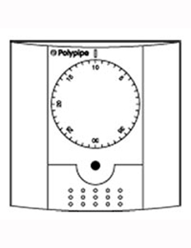 Polypipe Dial Room Thermostat RF  By Polypipe