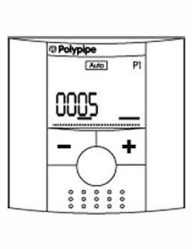 Polypipe 4 Channel Time Clock RF  By Polypipe